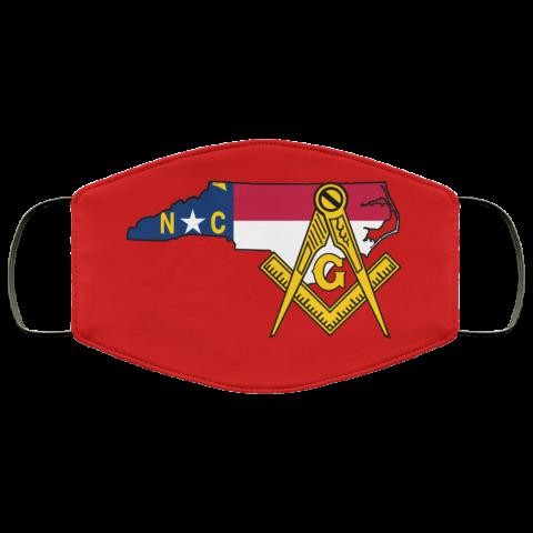 North Carolina Masonic Face Mask redirect 34