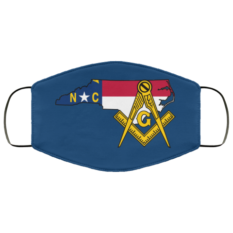 North Carolina Masonic Face Mask redirect 35