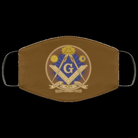 Faith Hope Charity Masonic Face Mask redirect 362