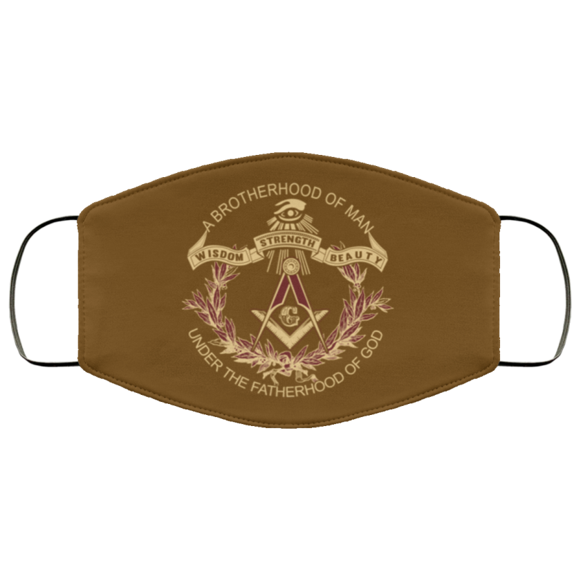 Brotherhood of Man Masonic Face Mask redirect 370