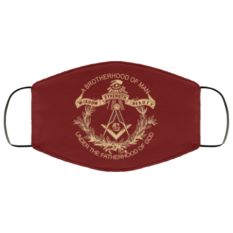 Brotherhood of Man Masonic Face Mask redirect 371