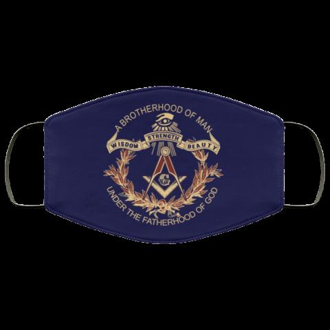 Brotherhood of Man Masonic Face Mask redirect 372