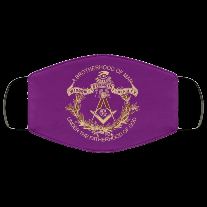 Brotherhood of Man Masonic Face Mask redirect 373