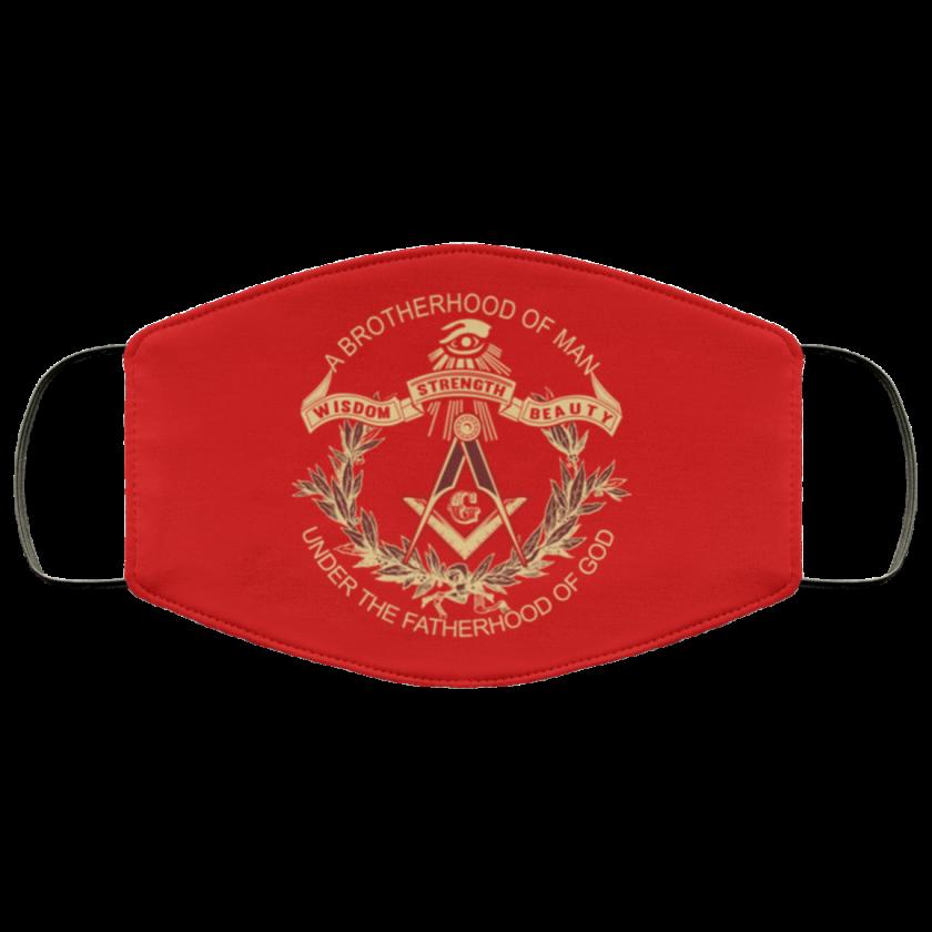Brotherhood of Man Masonic Face Mask redirect 374