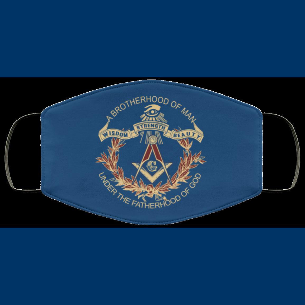 Brotherhood of Man Masonic Face Mask redirect 375