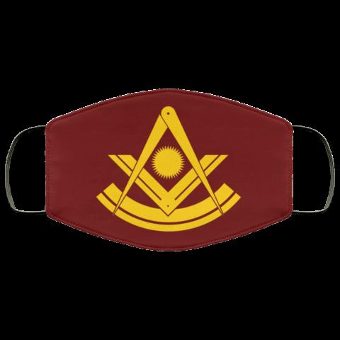 Past Master Freemason Masonic Face Mask redirect 400