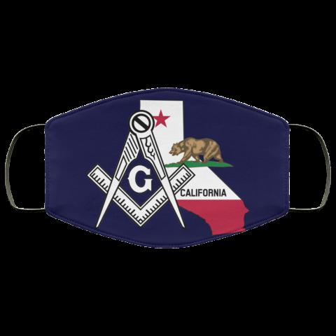 California Masonic Face Mask redirect 41