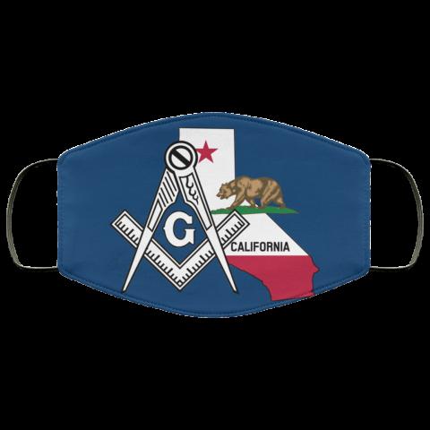 California Masonic Face Mask redirect 43