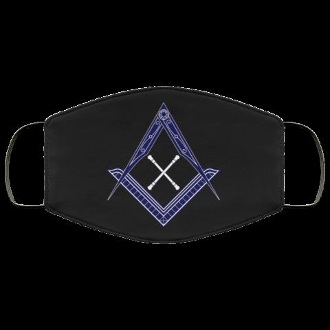 Marshal Baton Masonic Face Mask redirect 452