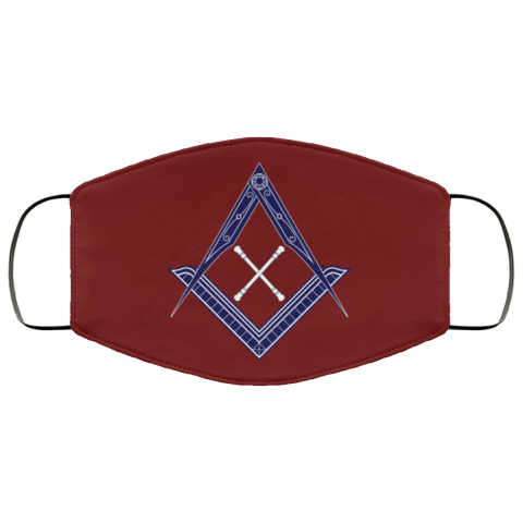 Marshal Baton Masonic Face Mask redirect 453