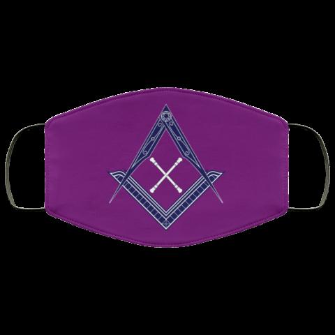 Marshal Baton Masonic Face Mask redirect 455