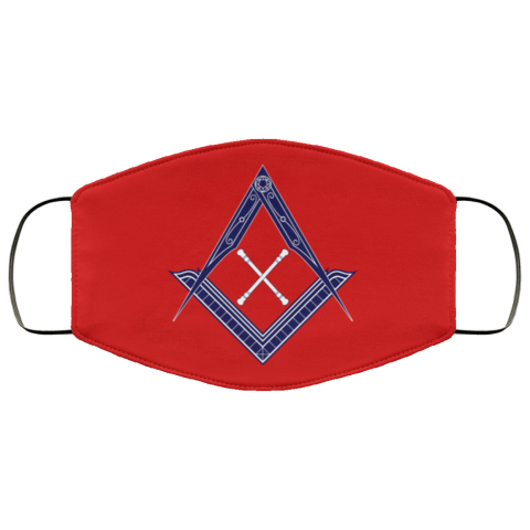 Marshal Baton Masonic Face Mask redirect 456