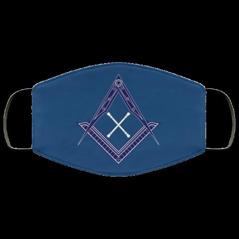 Marshal Baton Masonic Face Mask redirect 457