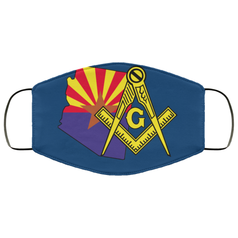 Arizona Masonic Face Mask redirect 47