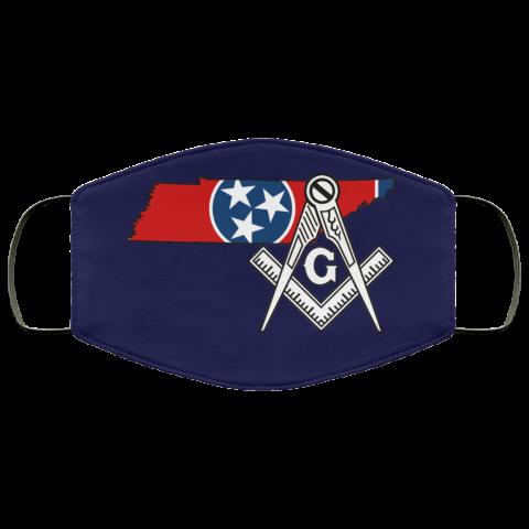 Tennessee Masonic Face Mask redirect 53