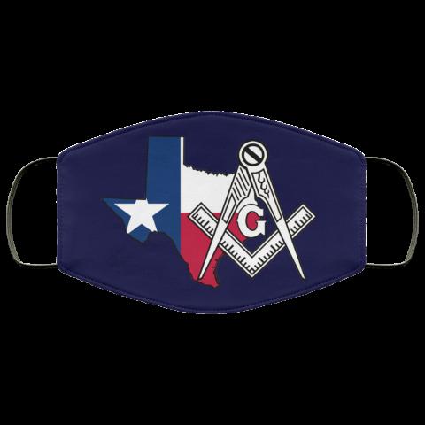 Texas Masonic Face Mask redirect 57