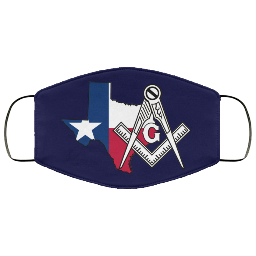 Texas Masonic Face Mask redirect 57