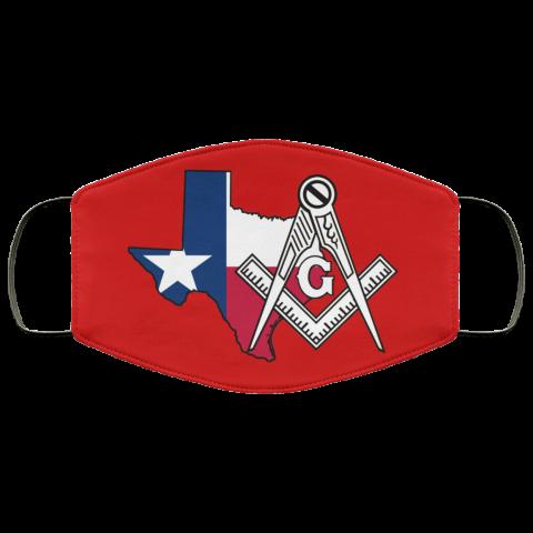 Texas Masonic Face Mask redirect 58
