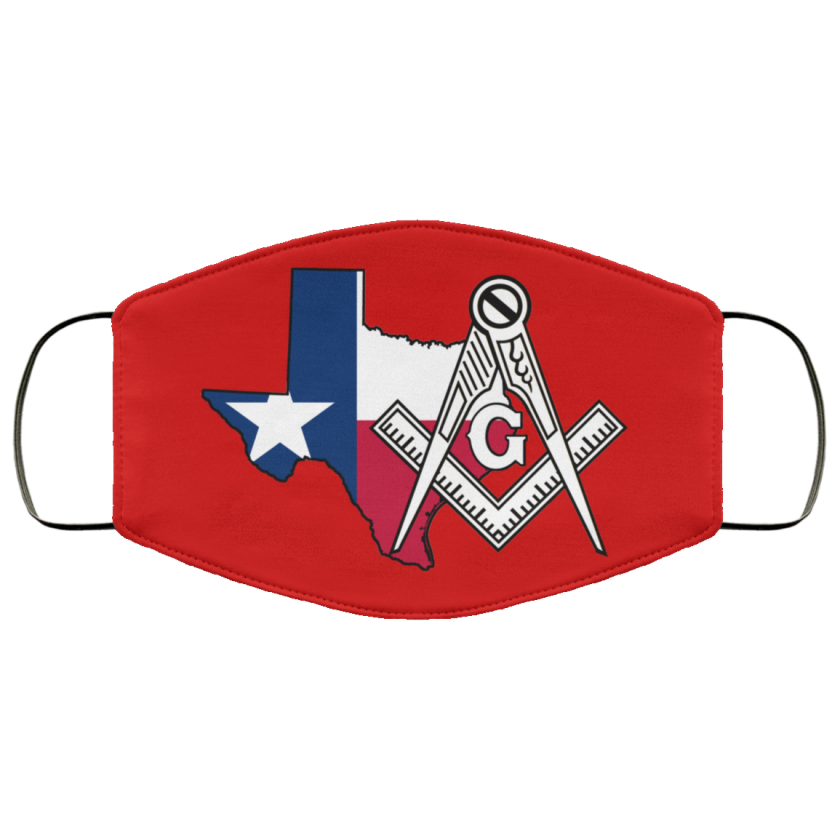 Texas Masonic Face Mask redirect 58