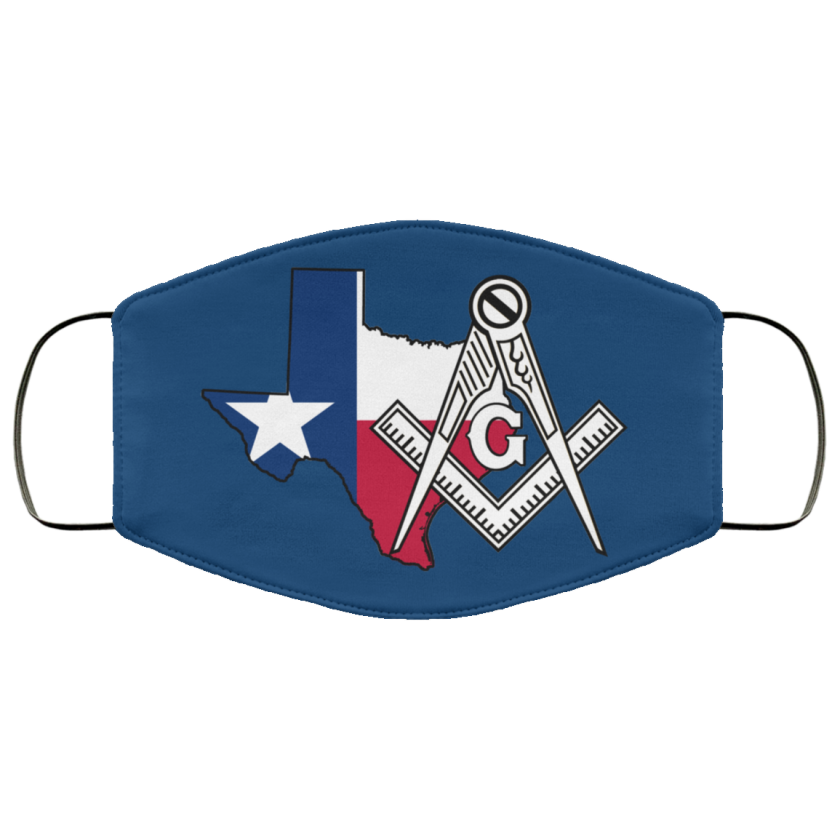Texas Masonic Face Mask redirect 59