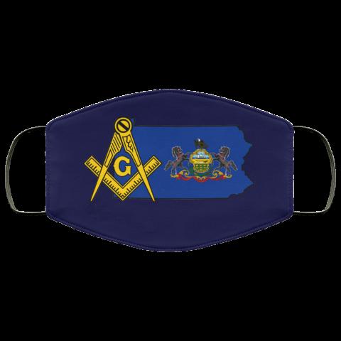 Pennsylvania Masonic Face Mask redirect 65