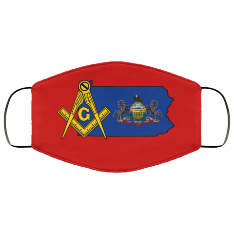 Pennsylvania Masonic Face Mask redirect 66