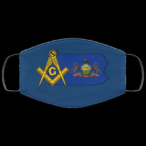 Pennsylvania Masonic Face Mask redirect 67