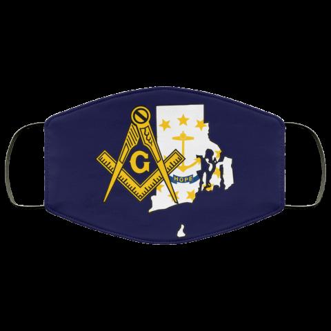 Rhode Island Masonic Face Mask redirect 69