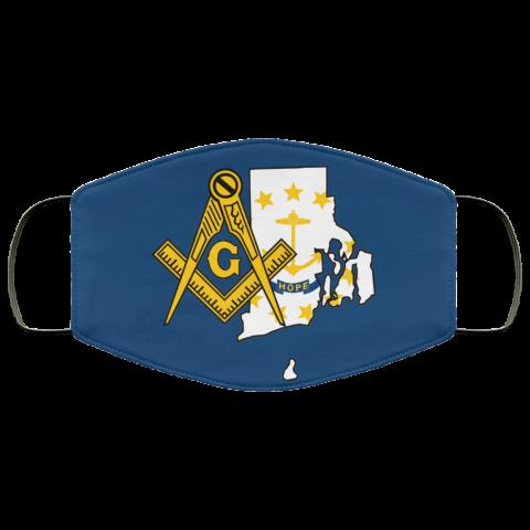 Rhode Island Masonic Face Mask redirect 71