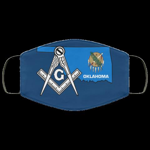 Oklahoma Masonic Face Mask redirect 83