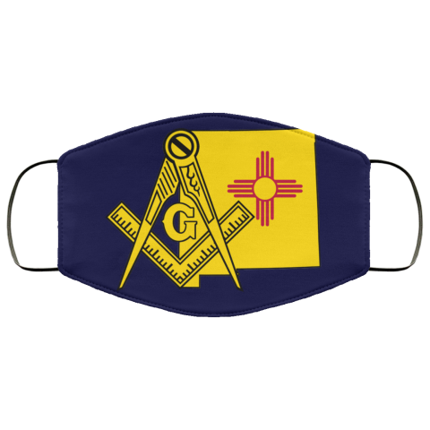 New Mexico Masonic Face Mask redirect 89