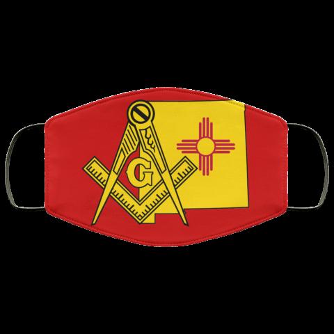New Mexico Masonic Face Mask redirect 90