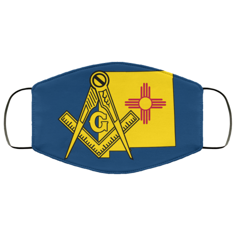New Mexico Masonic Face Mask redirect 91