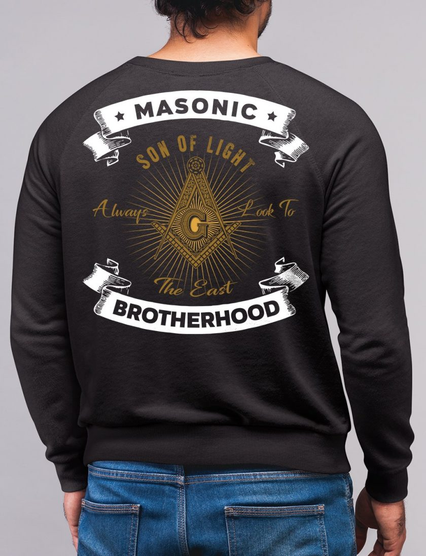 son of light black sweatshirt