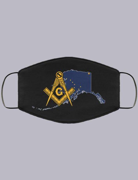 Alaska Masonic Face Mask state8