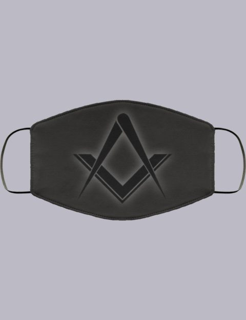 Square and Compass Face Mask symbol