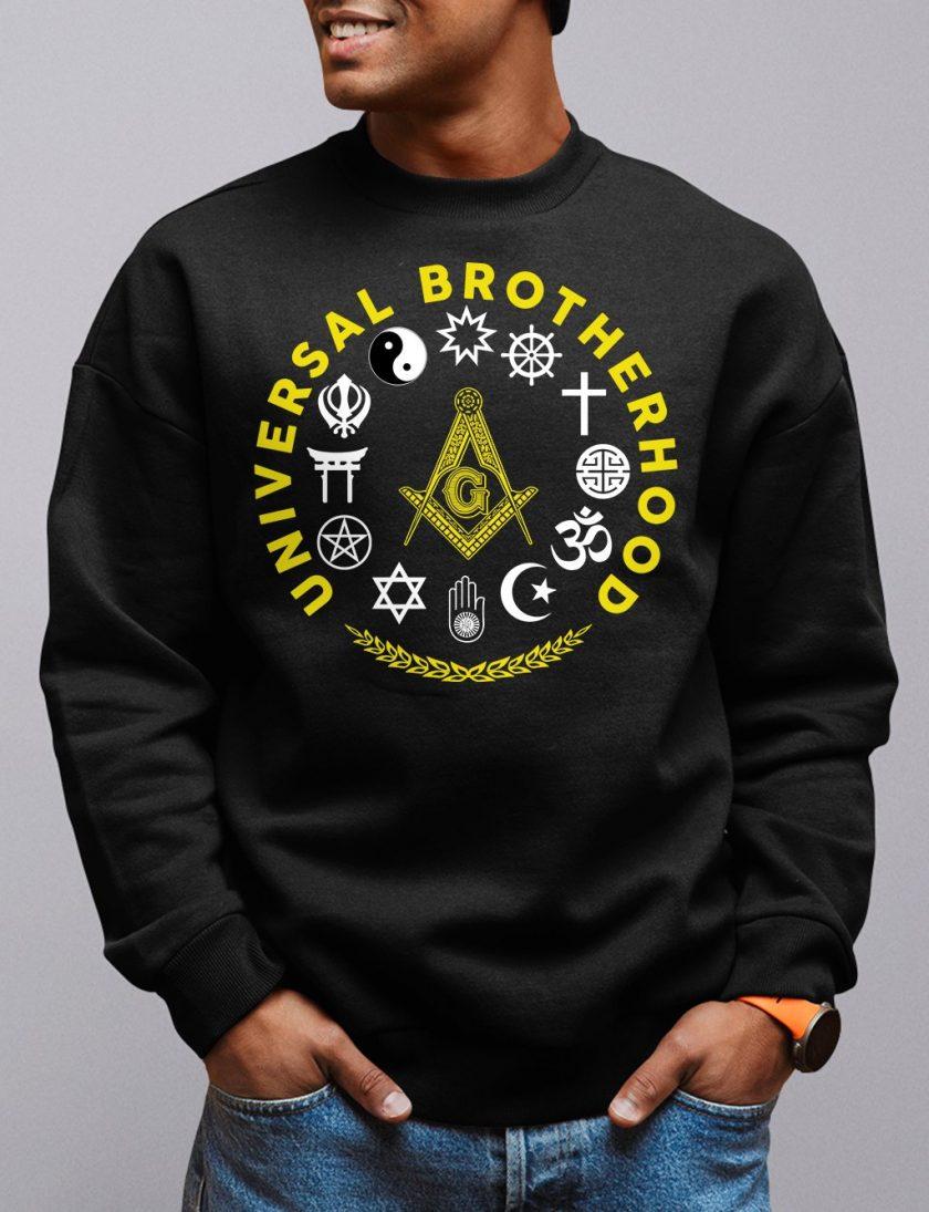 universal bros black sweatshirt