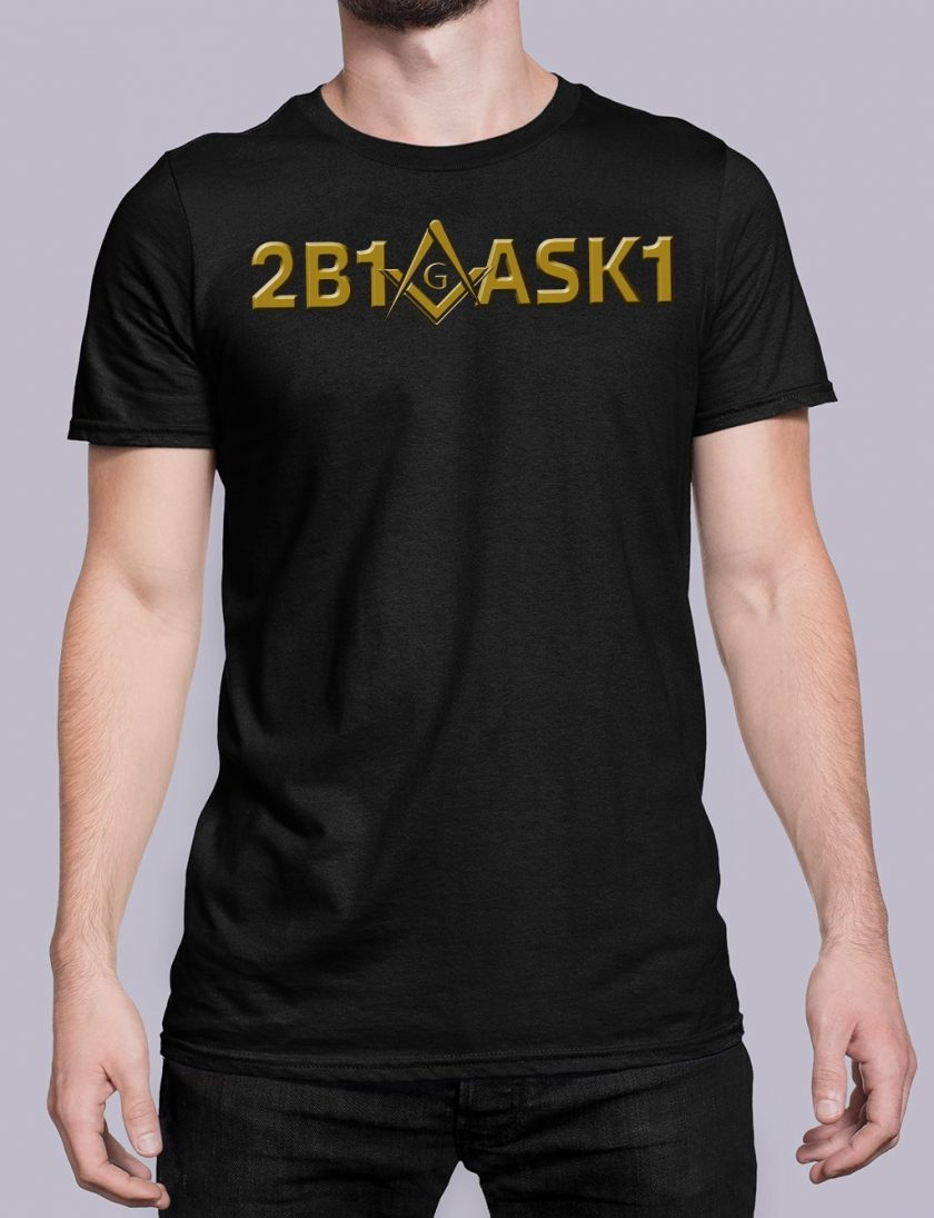 2b1ask1 black shirt