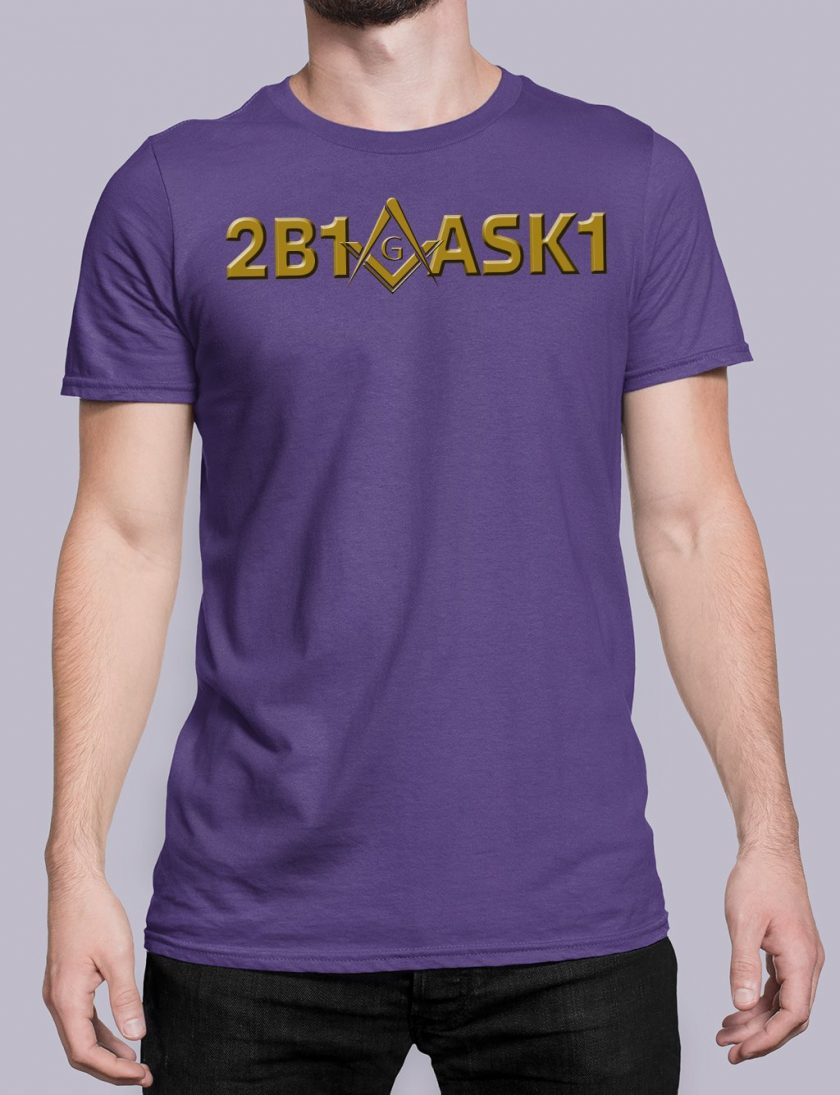 2b1ask1 purple shirt