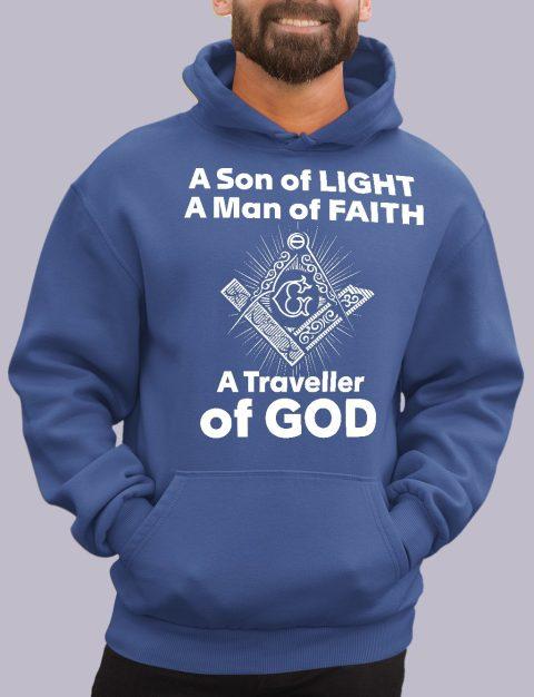 A Son of Light Masonic Hoodie A son of light royal hoodie