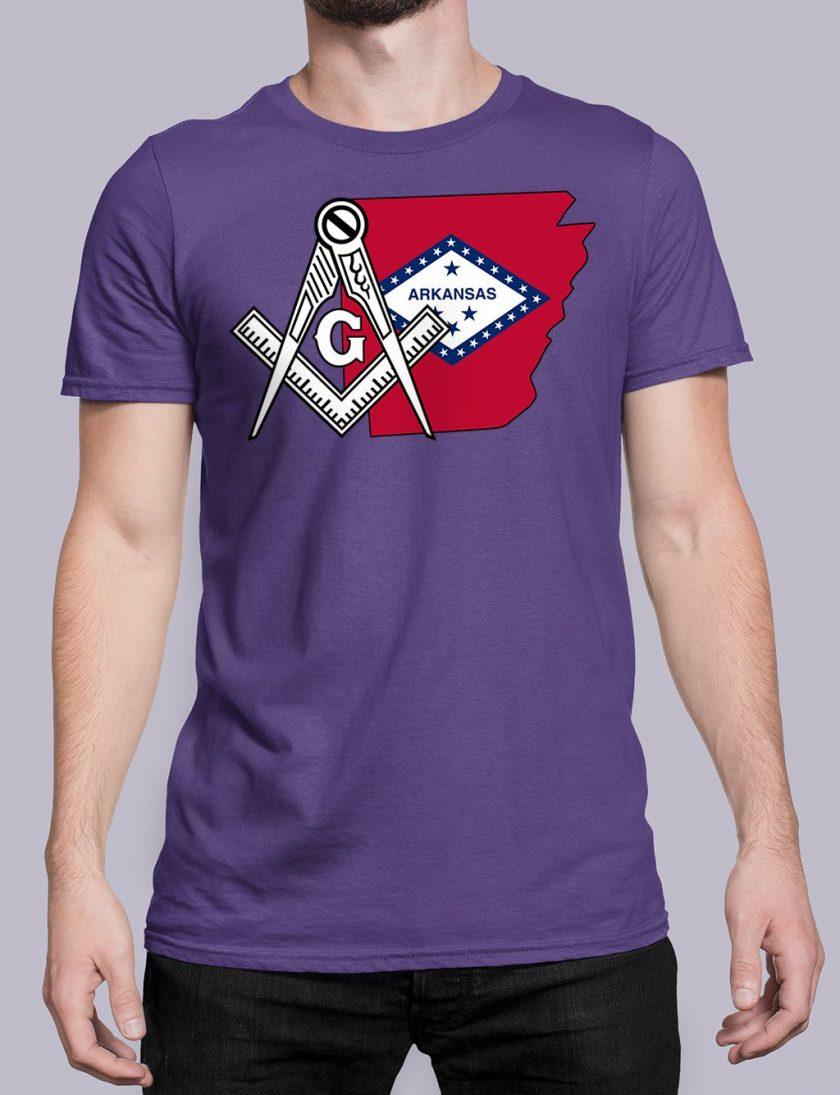 Arkansas purple shirt