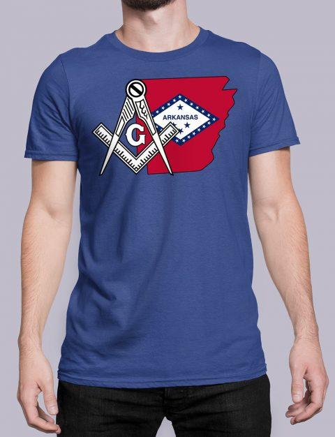 Arkansas Masonic Tee Arkansas royal shirt