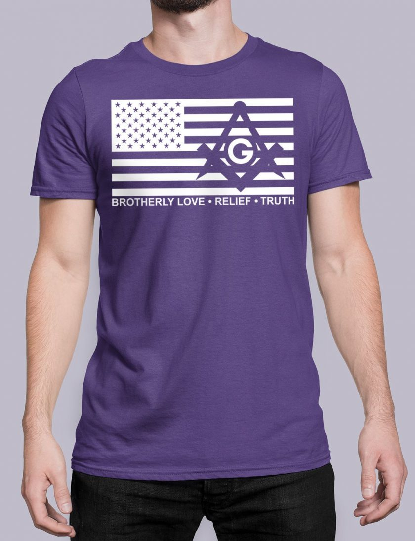 Brotherly Love Relief and Truth purple shirt