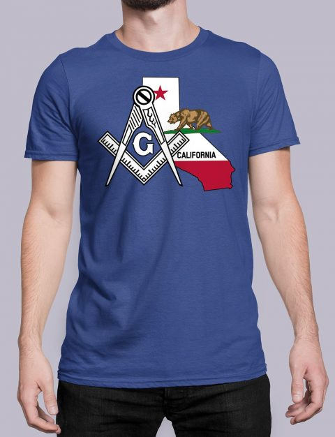 California Masonic Tee California royal shirt