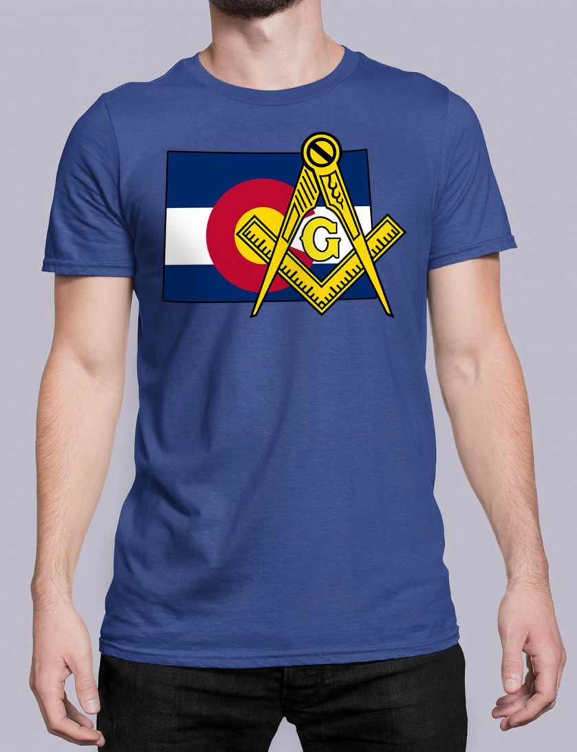 Colorado Masonic Tee Colorado royal shirt