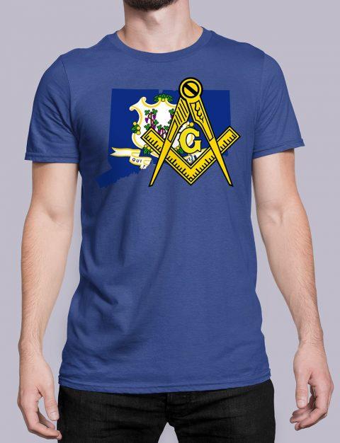 Connecticut Masonic Tee Connecticut royal shirt