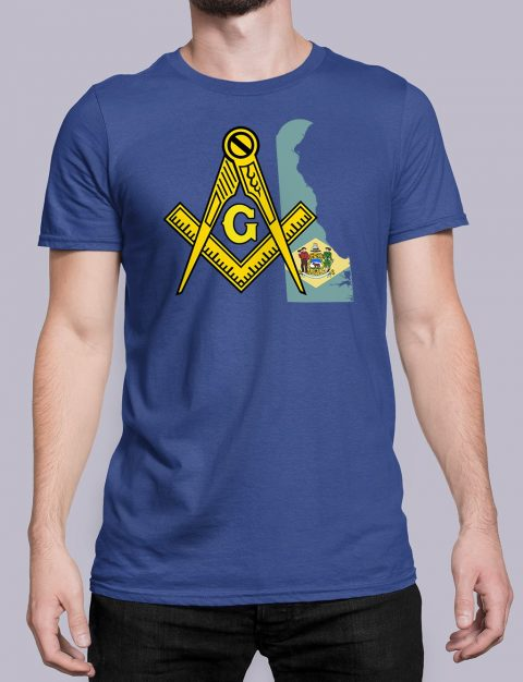 Delaware Masonic Tee Delaware royal shirt