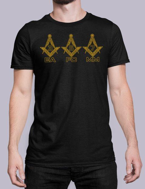 EA FC MM Masonic T-Shirt EA FC MM black shirt 6