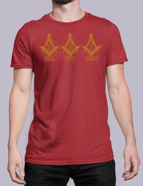 EA FC MM Masonic T-Shirt EA FC MM red shirt 6