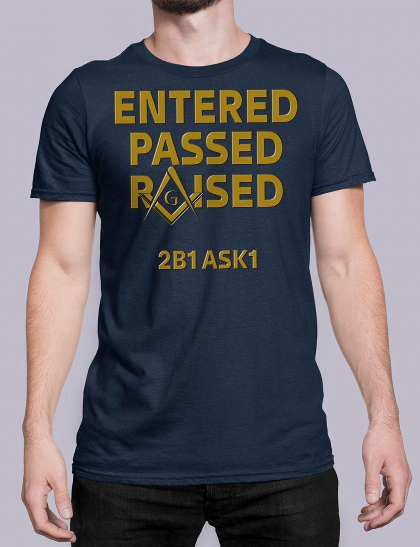 Entered Passed Raised 2B1 ASK1 navy shirt 8